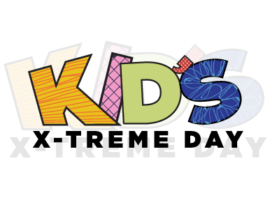 Kids's X-treme Day Logo